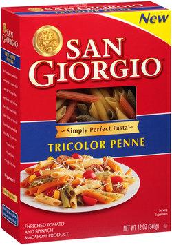 San Giorgio® Tricolor Penne 12 oz. Box
