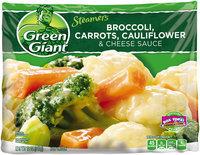Green Giant® Steamers Broccoli, Carrots, Cauliflower & Cheese Sauce