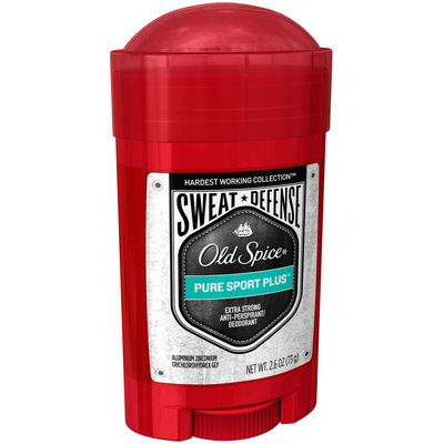 Hardest Working Collection Old Spice Hardest Working Collection Sweat Defense Anti-Perspirant Deodorant Pure Sport Plus