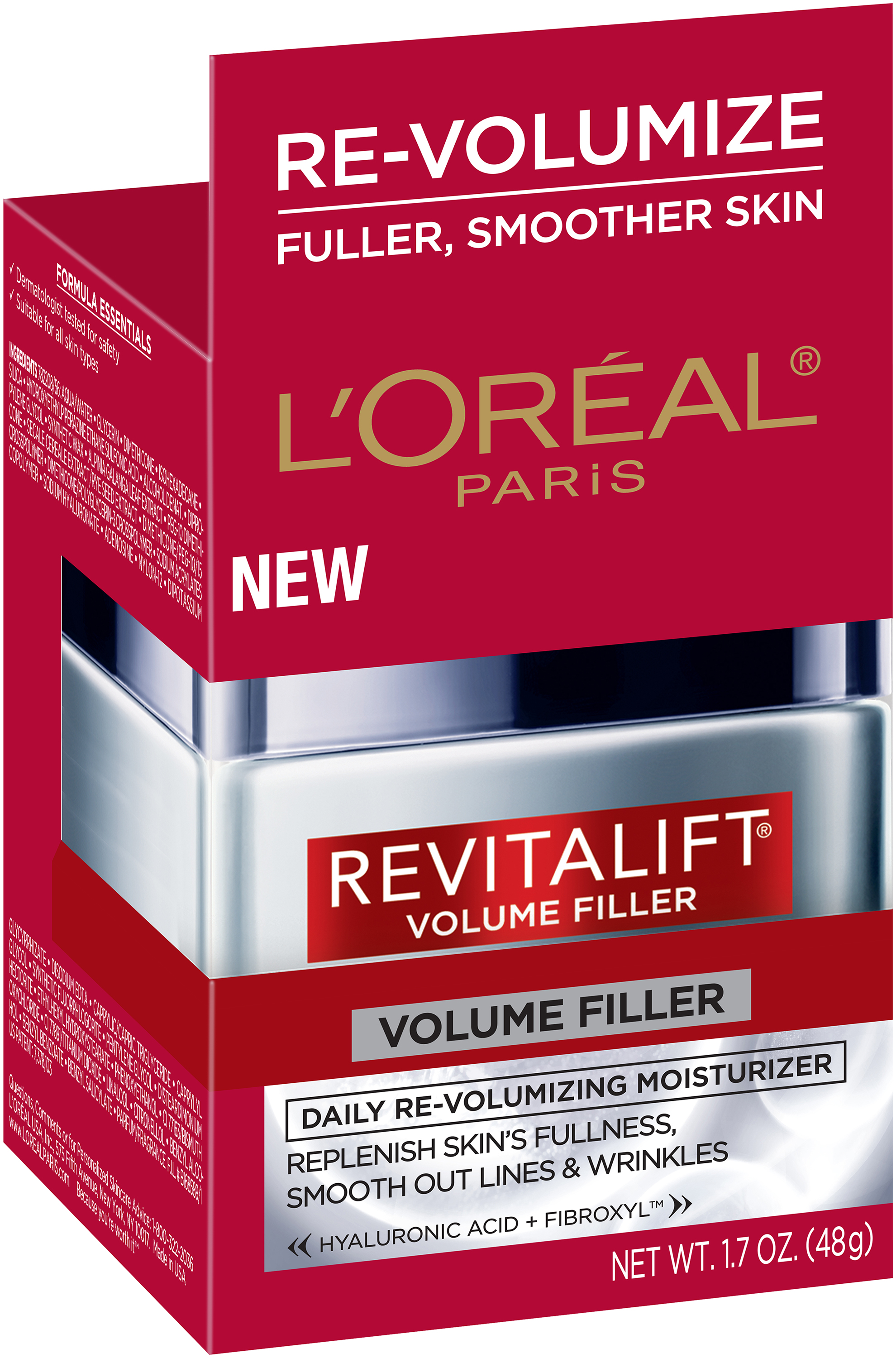 L'Oréal® Paris Revitalift® Daily Re-Volumizing Moisturizer for All Skin Types 1.7 oz. Jar