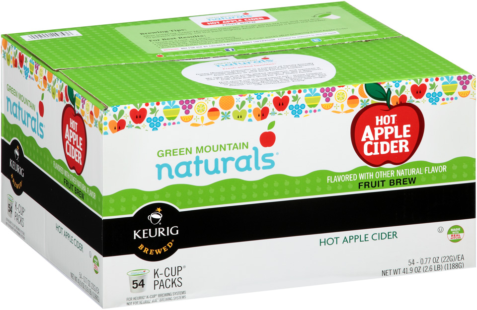 Green Mountain Naturals Hot Apple Cider K-Cups