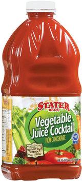 Stater Bros. Vegetable Juice Cocktail 64 Fl Oz Plastic Bottle