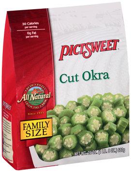 Pictsweet® All Natural Cut Okra 24 oz. Bag
