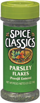 Spice Classics Flakes Parsley .5 Oz Shaker
