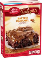 Betty Crocker® Delights Salted Caramel Brownie Mix 18.4 oz. Box