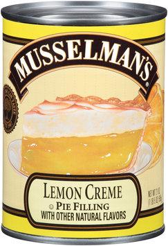 Musselman's® Lemon Creme Pie Filling 21 oz. Can