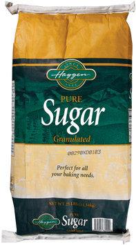 Haggen Granulated Pure Sugar 25 Lb Bag