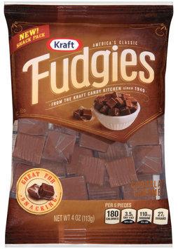 Kraft Fudgies Chocolate Caramels 4 oz. Bag