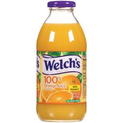 Welch's® 100% Juice Orange