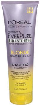 L'Oréal® Paris Hair Expertise™ EverPure Sulfate-Free Blonde Brass Banisher™ Shampoo 8.5 fl. oz. Tube