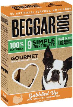 Beggar Dog™ Gobbled Up Gourmet Oven-Baked Dog Treats 16 oz. Box