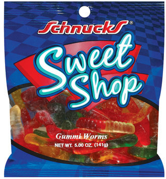 Schnucks Sweet Shop Gummi Worms 5 Oz Peg