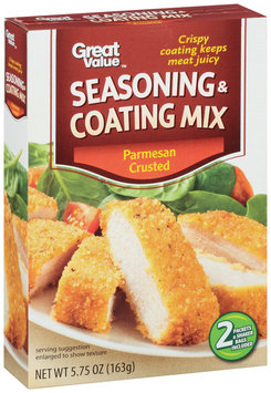 Great Value™ Parmesan Crusted Seasoning & Coating Mix 5.75 oz. Box