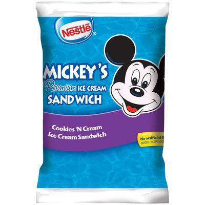 Nestlé Mickey's Cookies 'N Cream Ice Cream Sandwich 5 fl. oz. Package