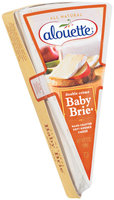 Alouette Baby Brie Double Creme Soft Ripened Cheese 7 Oz Wedge
