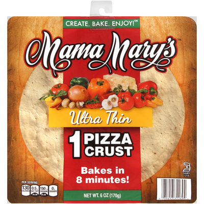 Mama Mary's™ 12 in. Ultra Thin Pizza Crust