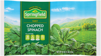 Springfield® Fancy Chopped Spinach 16 oz. Bag