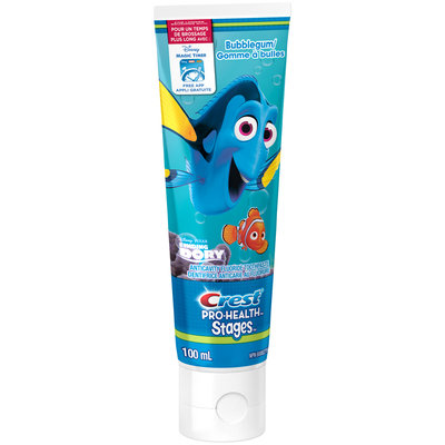 Pro Health Stages Crest Pro-Health Stages Kid's Toothpaste featuring Disney Pixar's Finding DoryNPN 80002766 100 mL