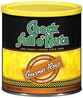 Chock full o' Nuts® Gourmet Roast Ground Coffee 33 oz Canister
