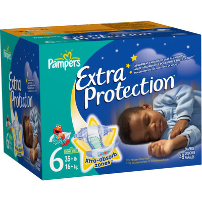 Pampers® Extra Protection Big Pack Size 6 Diapers 48 ct Box