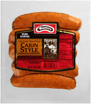 Wimmer's® Cajun Style Smoked Sausage 5 ct Pack