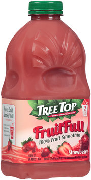 Tree Top® Fruit Full Strawberry 100% Fruit Smoothie 46 fl. oz. Bottle