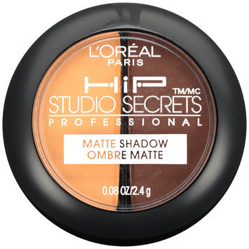 Studio Secrets Professional Matte Shadow Duo 807 Poppy 0.08 oz. Plastic Container