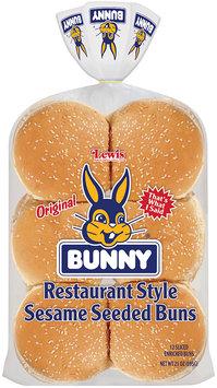 Bunny® Original Restaurant Style Sesame Seeded Buns 12 ct. Bag