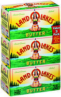 Land O'Lakes® Sweet Cream Butter Salted 3-1 lb. Pack