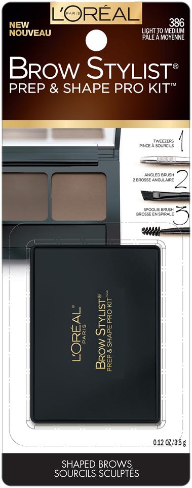L'Oréal Paris Brow Stylist® Prep & Shape Pro Kit™