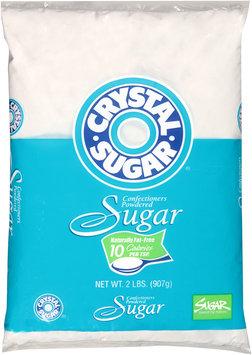 Crystal Sugar® Confectioners Powdered Sugar 2 lb. Bag