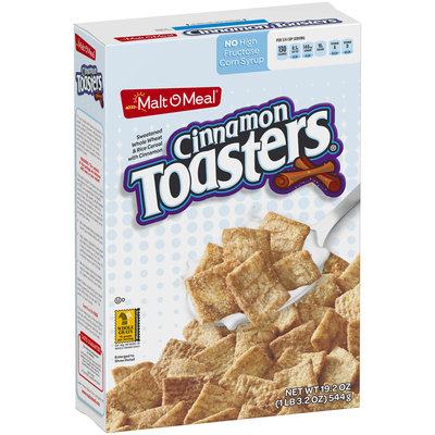 Malt-O-Meal® Cinnamon Toasters® Cereal 19.2 oz. Box