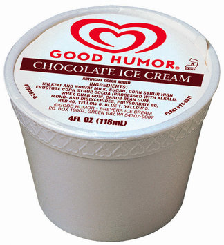 Good Humor Ice Cream Cup Chocolate Single Serve Novelty 4 Oz Cup
