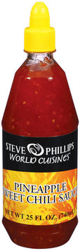Phillips World Cuisines Sweet Pineapple Chili Sauce 25 Fl Oz Squeeze Bottle