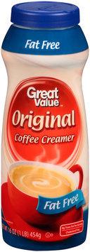 Great Value™ Fat Free Original Coffee Creamer