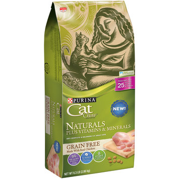 Purina Cat Chow Naturals Plus Vitamins & Minerals with Real Chicken Cat Food