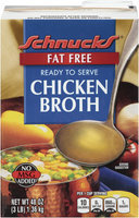 Schnucks® Fat Free Chicken Broth