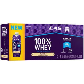 EAS® 100% Whey Vanilla Protein Shake 12-11 fl. oz. Aseptic Packs