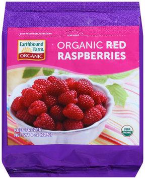 Earthbound Farm® Organic Red Raspberries 8 oz. Bag