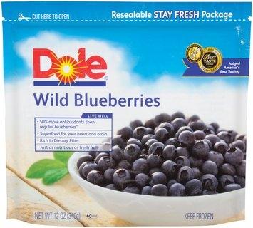 Dole Wild Blueberries 12 Oz Pouch