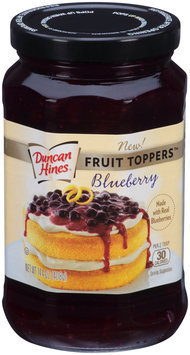 Duncan Hines® Blueberry Fruit Toppers™ 14.4 oz. Jar