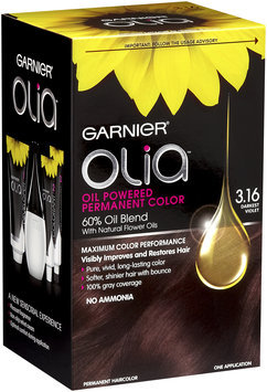 Garnier® Olia™ Oil Powered Permanent Haircolor, 3.16 Darkest Violet