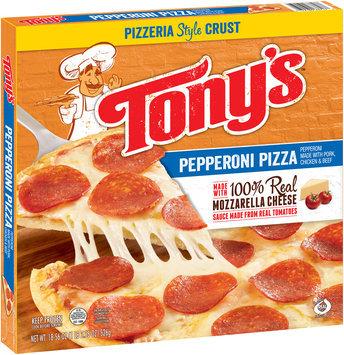 Tony's™ Pizzeria Style Crust Pepperoni Pizza 18.56 oz. Box