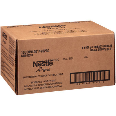 Nestlé Alegria Sweetened Frothy Beverage Mix 8-2 lb. Bags