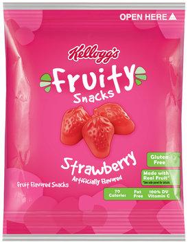 Kellogg's® Strawberry Fruity Snacks 0.8 oz. Pouch