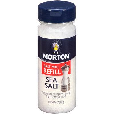 Morton® Salt Mill Refill Sea Salt 14 oz. Bottle