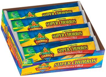 California Churros Super Strawberry Filled 2 Pack Churros