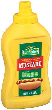 Springfield® Traditional Yellow Mustard 14 oz. Squeeze Bottle