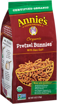 Annie's Homegrown® Organic Pretzel Bunnies™