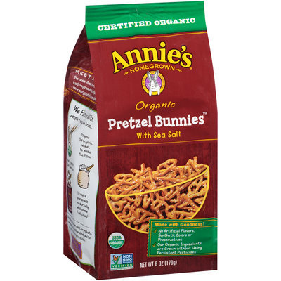 Annie's®  Homegrown  Organic Pretzel Bunnies